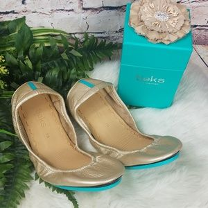 Champagne Tieks Limited Edition